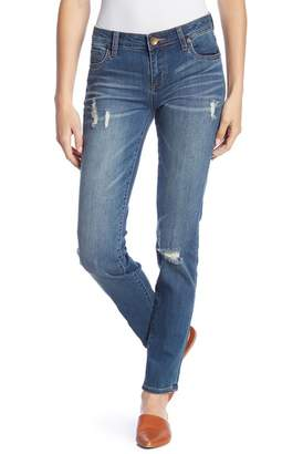 KUT from the Kloth Dianna Distressed Skinny Jeans
