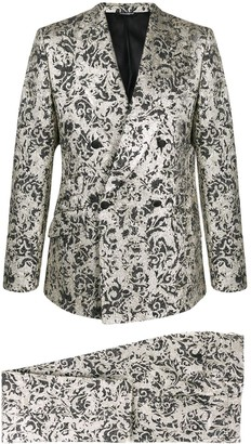 Dolce & Gabbana jacquard two-piece suit