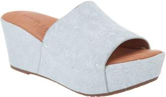 Kenneth Cole Gentle Souls By Gentle Souls Slip-on Slide Wedges - Forella
