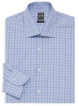 Ike Behar Plaid Dress Shirt
