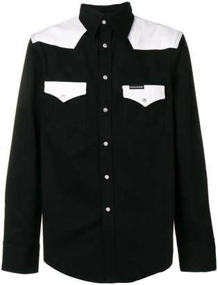 Calvin Klein Jeans colour block shirt