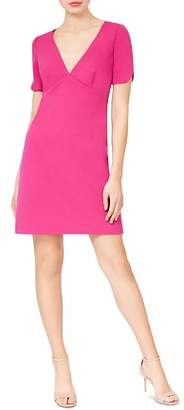Betsey Johnson Short-Sleeve Scuba Crepe Dress