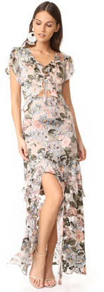 For Love & Lemons Luciana Maxi Dress $316 thestylecure.com