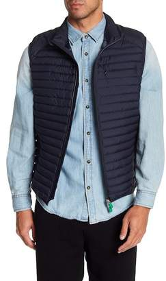 Save The Duck Quilted Stand-Up Collar Vest
