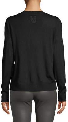 Zadig & Voltaire Miss Merino Wool Crewneck Sweater