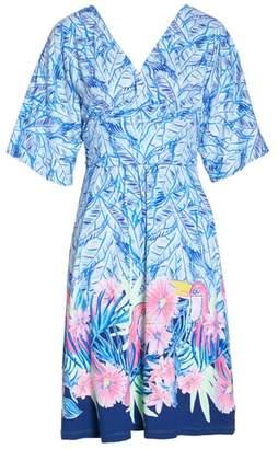 Lilly Pulitzer R) Parigi Print Dress