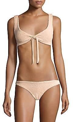 Hunza G Women's Two-Piece Angela Bikini Set