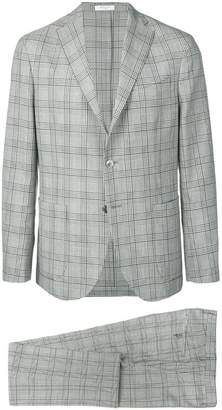Boglioli plaid formal suit