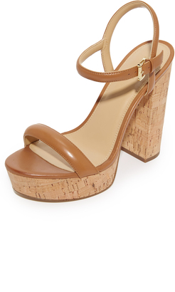 MICHAEL Michael Kors Dallas Platform Sandals $125 thestylecure.com