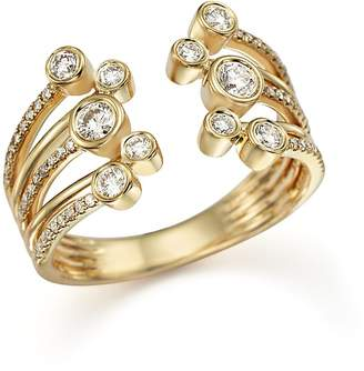 Bloomingdale's Diamond Multirow Ring in 14K Yellow Gold, .50 ct. t.w.