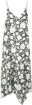 Christian Wijnants Disma floral-print midi dress