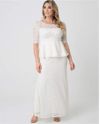 Plus Size Peplum Dress - ShopStyle
