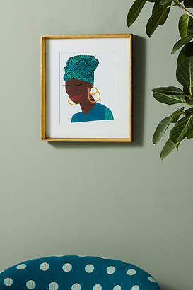 Soicher Marin Susan Hable for Face Series - Jade Wall Art