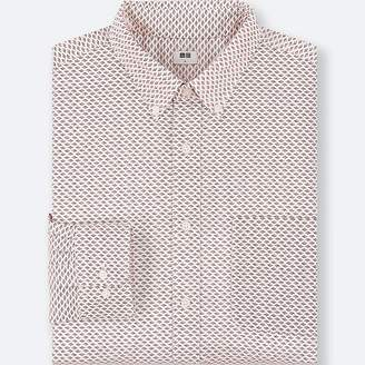 Uniqlo Men's Extra Fine Cotton Broadcloth Long-sleeve Shirt