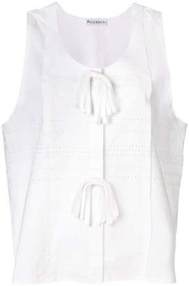J.W.Anderson Broderie Anglaise Oversized Tank Top