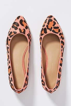 Anthropologie Leopard Flats