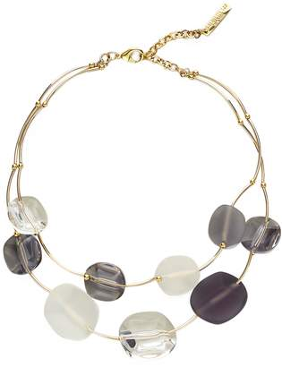 Lafayette 148 New York Lucite(R) Stone Necklace