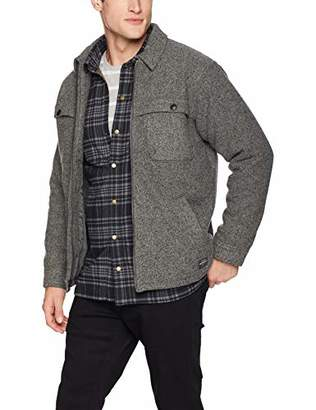Quiksilver Men's Lost Road Coat Windbreaker Jacket