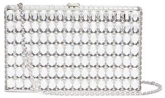Judith Leiber 'Sideways' crystal clutch