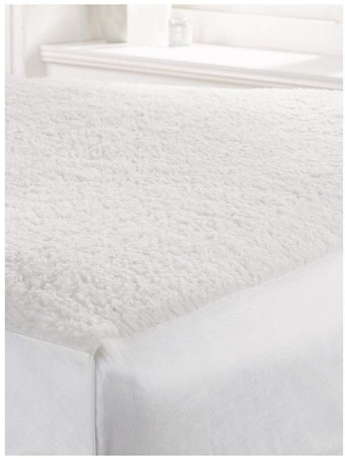 Fleece Deep Mattress Protector - 30 Cm Depth