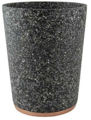 MON TEX Marble Effect Wastebasket