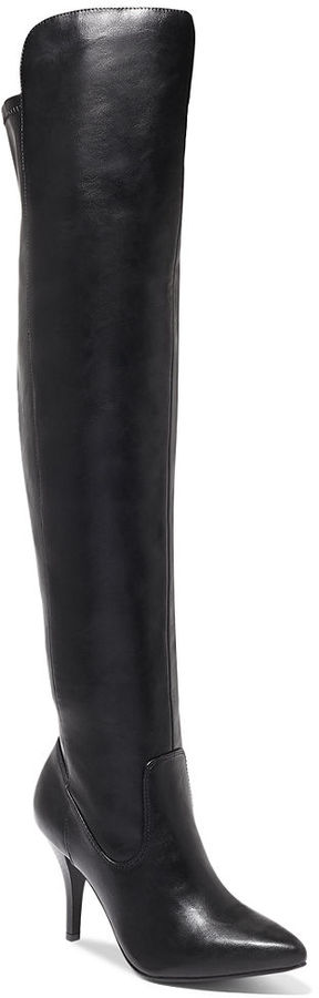 Rampage Kaylen Over The Knee Dress Boots