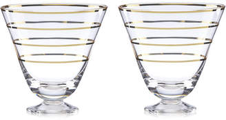 Kate Spade Melrose Avenue Cocktail Glasses, Set of 2