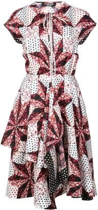 Calvin Klein Floral Print Shirt Dress
