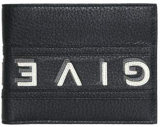 Givenchy Logo Reverse Bi-fold Leather Wallet