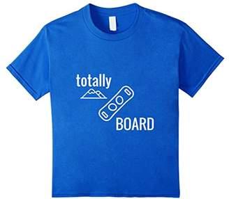 IDEA Snowboard Gift T-Shirt Totally Board