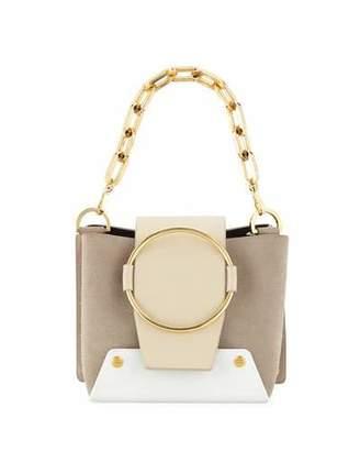 Yuzefi Mini Delila Colorblock Crossbody Bag