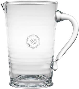 Juliska Clear Berry & Glass Thread Pitcher