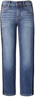 Banana Republic Side-Stripe Jackson Wash Cropped Girlfriend Jean