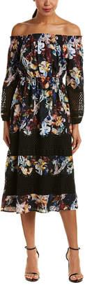 Catherine Malandrino Midi Dress