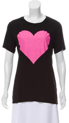 Prabal Gurung Graphic Short Sleeve Top