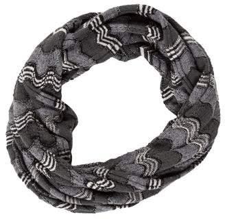 Missoni Wool Open Knit Infinity Scarf