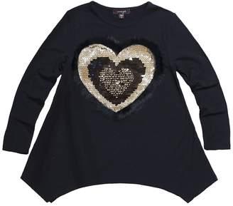 Imoga Amber Faux Fur Trim Tunic Top (Little Girls & Big Girls)
