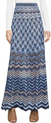 BCBGMAXAZRIA Vida Marled Maxi-Skirt