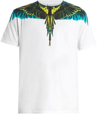 MARCELO BURLON Valentin cotton-jersey T-shirt $150 thestylecure.com
