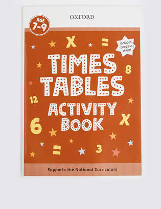 Marks and Spencer Times Tables Activity Book
