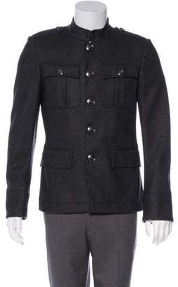 Burberry Wool Military Jacket