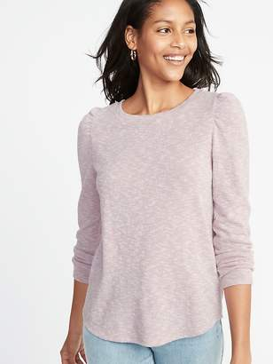Old Navy Plush-Knit Bracelet-Sleeve Top for Women