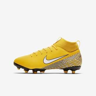 Nike Jr. Mercurial Superfly VI Academy Neymar Jr Little/Big Kids' Multi-Ground Soccer Cleat