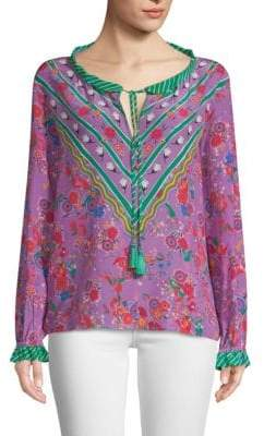 Saloni Ali Silk Tunic