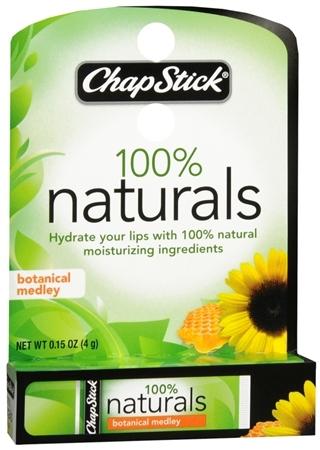 ChapStick 100% Naturals Lip Balm Botanical Medley