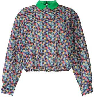 Kolor colour-block blouse
