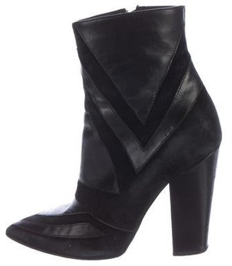 Laurence Dacade Leather Ankle Boots $150 thestylecure.com