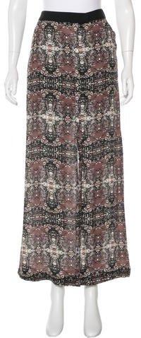 A.L.C.A.L.C. Printed Maxi Skirt