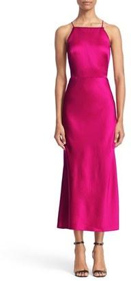 Women's Jason Wu Backless Crepe Midi Dress $1,495 thestylecure.com