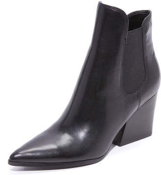 KENDALL + KYLIE Finley Leather Booties $190 thestylecure.com